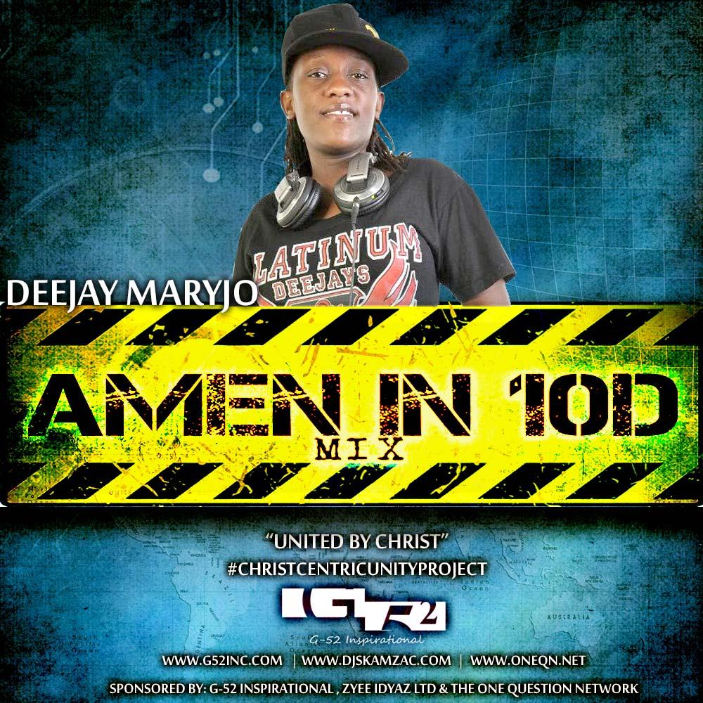 Amen in 10D -Mary jo